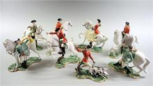Nymphenburg, 8 Jagdfiguren