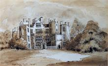Sherbone Castle in Dorset